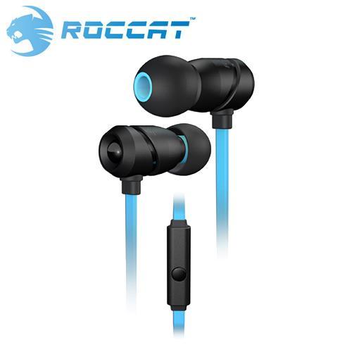 ROCCAT 冰豹 ALUMA 鋁製外殼 耳道式耳機麥克風
