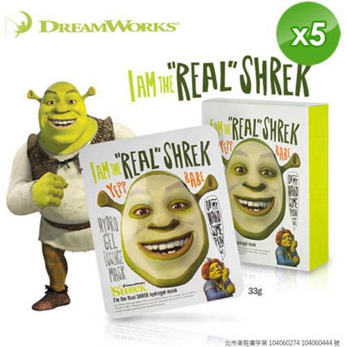 【夢工廠】(SHREK史瑞克)我是史瑞克高保溼凝膠面膜 共5片