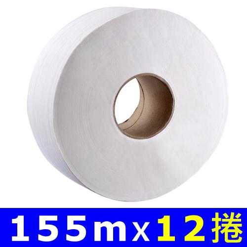 【Livi優活】大捲筒衛生紙 155mx12捲/箱