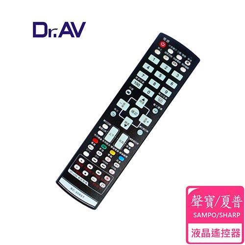【Dr.AV】RC-308ST SAMPO/SHARP 聲寶/夏普 LCD 液晶電視遙控器