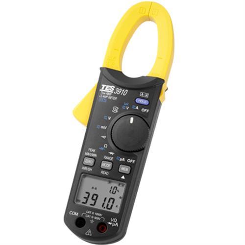 TES TES-3910 真有效值交直流鉤錶(DC/AC 1000A)