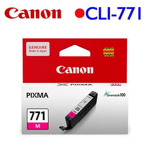 Canon CLI-771M 原廠墨水匣 (紅)
