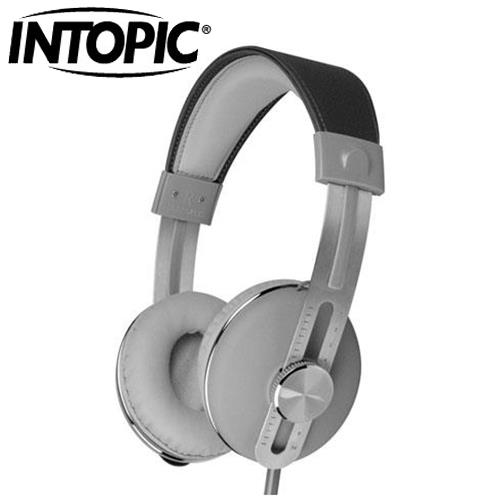 INTOPIC 廣鼎 JAZZ-M600 音樂耳機麥克風 灰