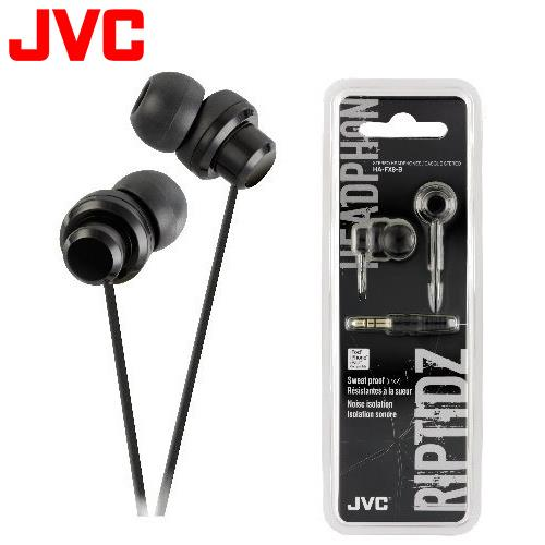 JVC HA-FX8 休閒多色彩入耳式耳機 黑