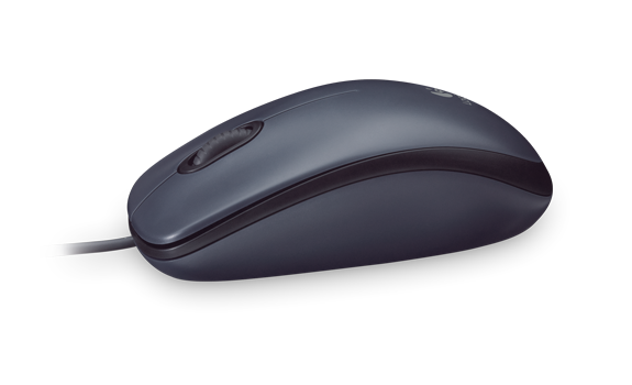 Logitech 羅技 M90 有線滑鼠|EcLife良興購物網