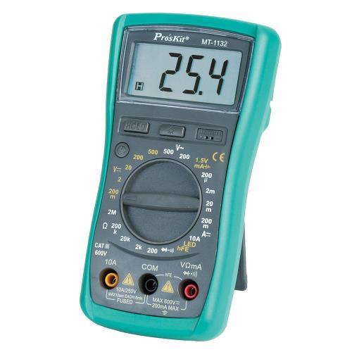 Pro'sKit寶工 MT-1132   3又1/2防護型多功能數字萬用表