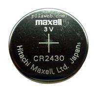 MAXELL CR2430 水銀電池 1入