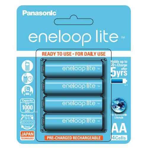 Panasonic eneloop lite 輕量版3號充電電池4入