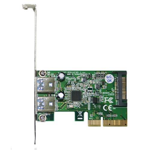 伽利略 PCI-E 4X USB3.1擴充卡
