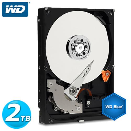 WD 藍標 3.5吋 2TB SATA3 內接硬碟(WD20EZRZ)