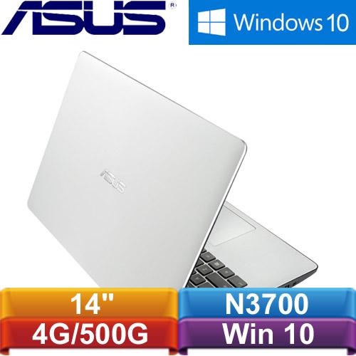 【福利品出清】ASUS華碩 X453SA-0021GN3700 14吋筆記型電腦