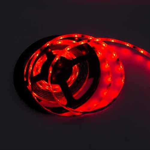 幻彩LED跑馬燈條/3M 紅 (DC12V)*不可剪裁