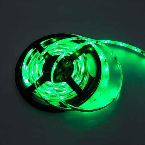 幻彩LED跑馬燈條/3M 綠 (DC12V)*不可剪裁