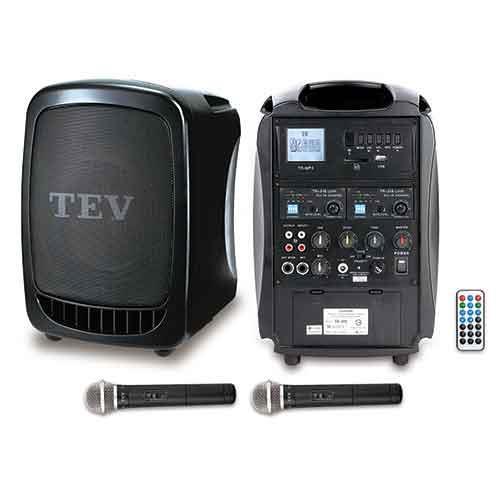 TEV USB/SD雙頻無線擴音機 TA300-2