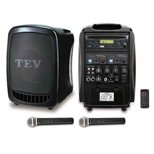 TEV CD/USB/SD雙頻無線擴音機 TA330-2