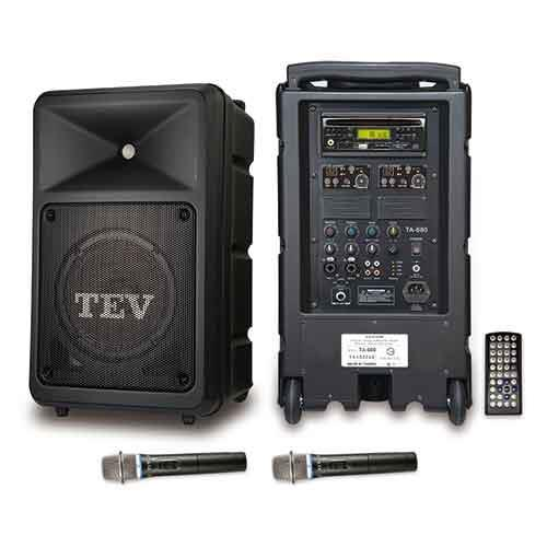 TEV DVD/CD/USB/SD雙頻無線擴音機 TA680D-2
