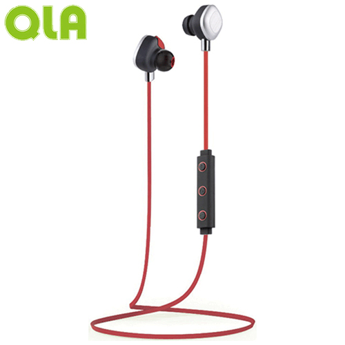 【網購獨享優惠】QLA BR939S 運動型雙耳立體聲藍牙耳麥-紅