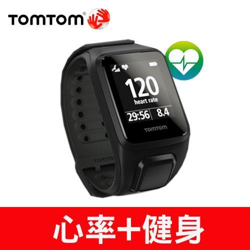 TomTom SPARK 健身錶心率款(黑色寬錶帶)