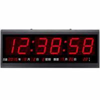 大字幕 LED 紅光 萬年曆電子鐘 壁掛 TL-4819