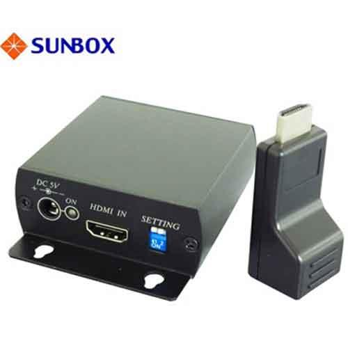 SUNBOX HDMI 影音訊號延長器,含20米 Cat5e UTP線
