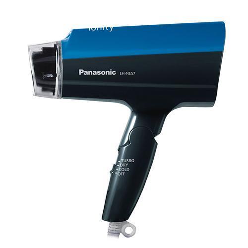 Panasonic 負離子可摺疊吹風機(藍)EH-NE57-A【下殺↘大風量和負離子】