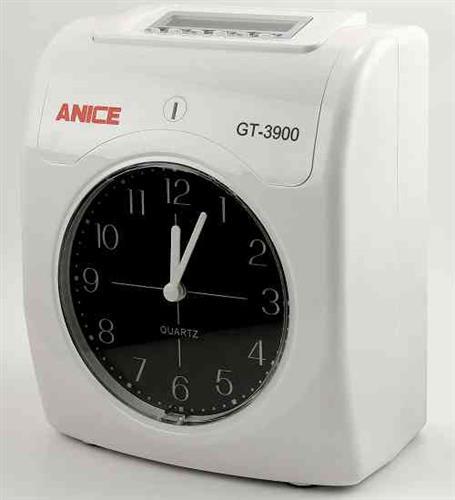 ANICE 六欄位微電腦打卡鐘 GT-3900(雙色列印)
