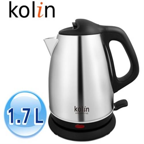 KOLIN歌林KPK-MNR1716S1.7L不銹鋼快煮壺 KPKMNR1716S【限時下殺↘304不鏽鋼材】