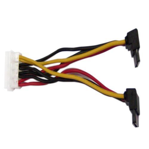 SATA電源線90度1分2