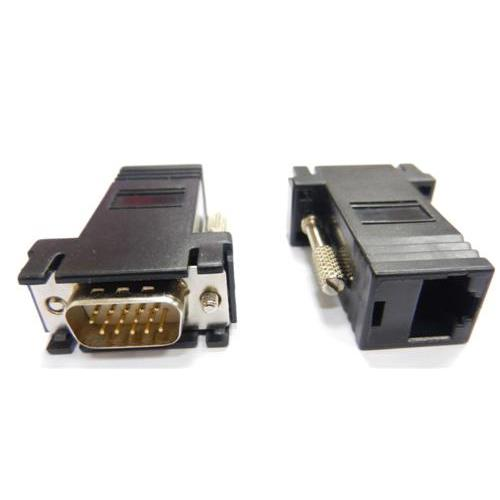 i-wiz HD高畫質VGA(公)網路轉接頭