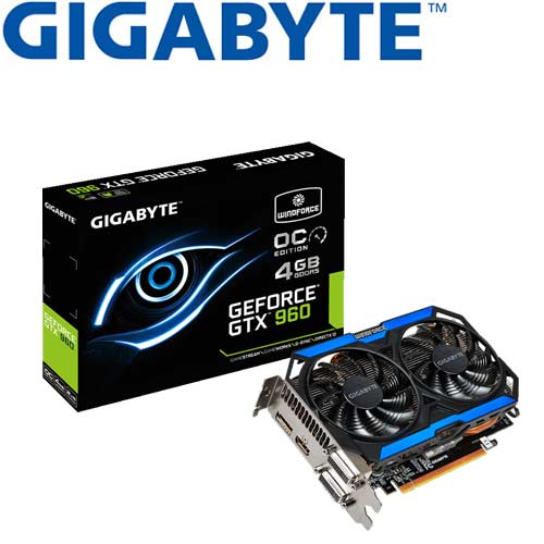 【福利品出清】GIGABYTE技嘉 GV-N960OC-4GD 顯示卡