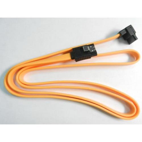 標準SATA直-90度傳輸排線 1米