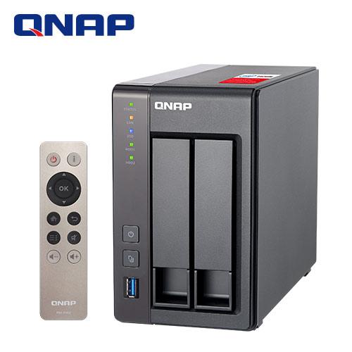 QNAP威聯通 TS-251+ -8G 2Bay網路儲存伺服器【獨家送HDMI線】