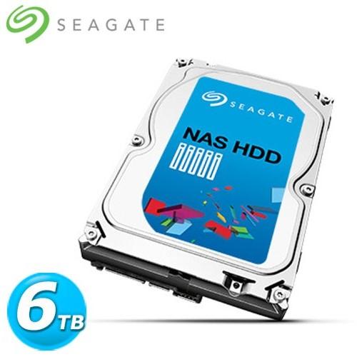 Seagate 3.5吋 6TB SATA3 NAS專用 內接硬碟