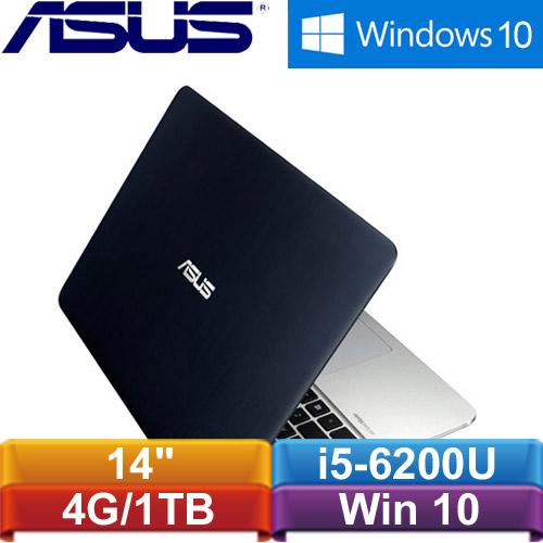 【福利品】ASUS華碩 K401UB-0022A6200U 14吋筆記型電腦