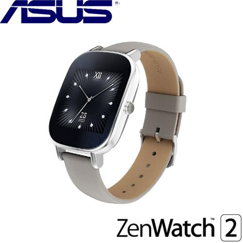 【福利品】ASUS華碩 ZenWatch 2 智慧型手錶 真皮裸膚 (小錶