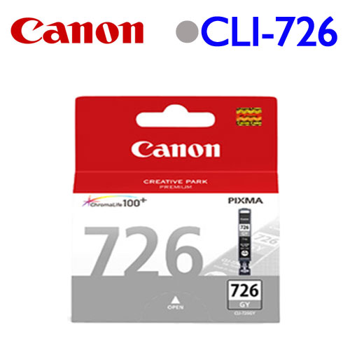 Canon CLI-726GY 原廠墨水匣 (灰)