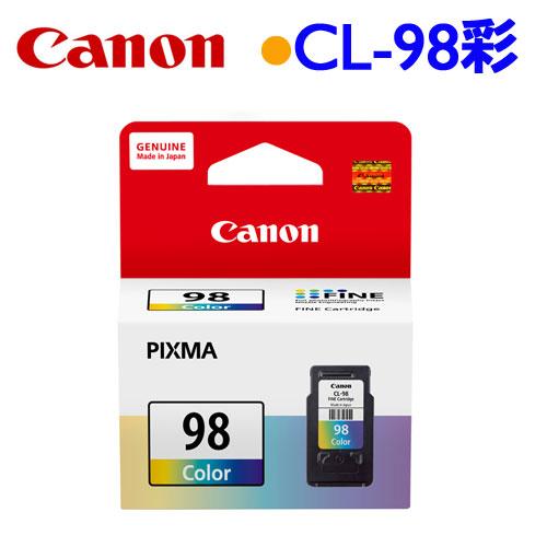 Canon CL-98 原廠墨水匣 (彩)