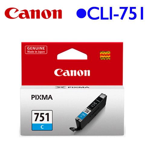Canon CLI-751C 原廠墨水匣 (藍)