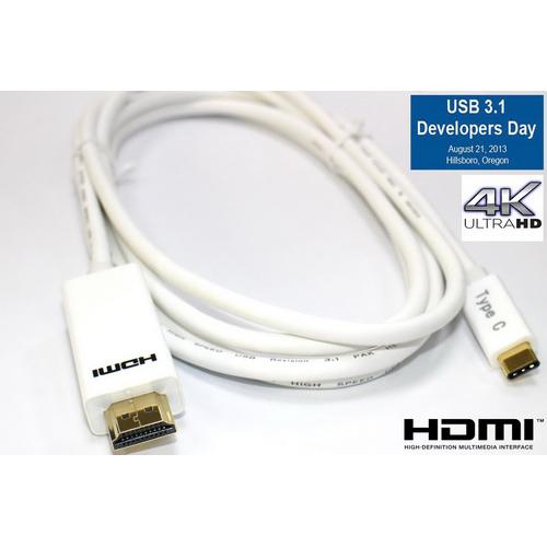 i-wiz USB3.1 Type-C公轉HDMI影音傳輸線(電腦) 2米