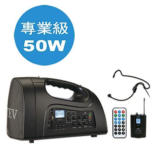 TEV 肩帶式USB SD播放擴音器(頭戴式) TA220ULH