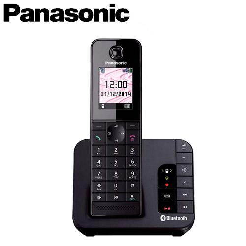 Panasonic 國際牌 數位藍芽無線電話 KX-TGH260TW 黑