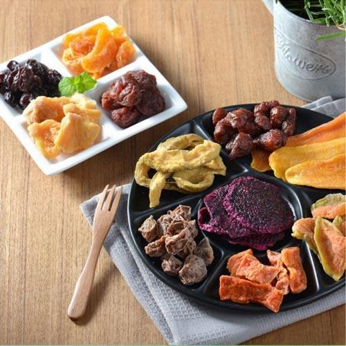 【蔥媽媽 果然美味】天然健康水果乾超值4包組 (口味任選)