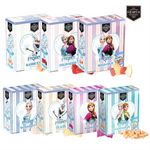 旅行者六號 Crispy 6 (冰雪奇緣限定版) 四盒組