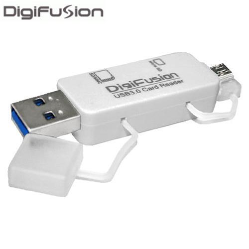 伽利略 USB3.0 OTG讀卡機 白