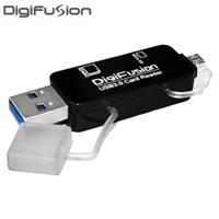 伽利略 USB3.0 OTG讀卡機 黑