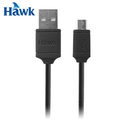 HAWK 逸盛 C160 Micro USB充電傳輸線 黑