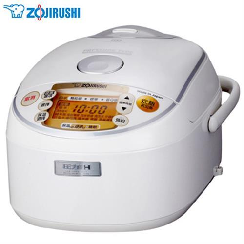 ZOJIRUSHI象印【6人份】多段式壓力IH微電腦電子鍋 NP-NDF10