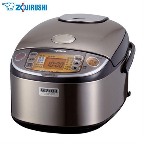 ZOJIRUSHI象印【6人份】多段式壓力IH微電腦電子鍋 NP-HRF10