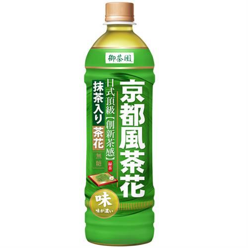 御茶園 京都風茶花綠茶 580mlx24入