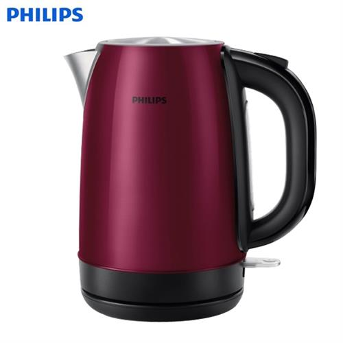 PHILIPS飛利浦【1.7L】不鏽鋼快煮壺 HD9322 (2年全球保固)
